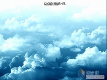 PS笔刷:Photoshop Cloud Brushes 云彩ps笔刷
